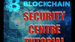 Blockchain Digital Wallet Security Centre for Beginners Tutorial