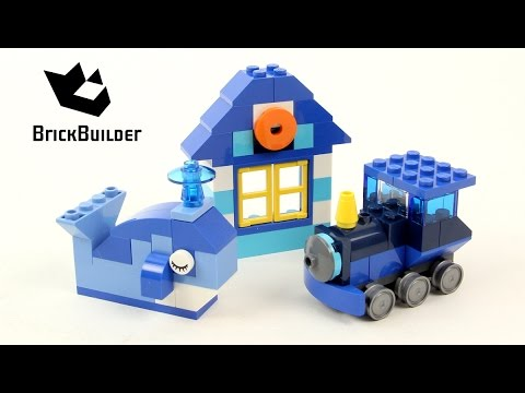Lego Creator 10706 Blue Creative Box - Lego Speed Build