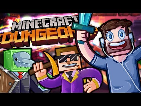 G18 And SideArms Join In! - Minecraft Dungeons With The Crew!