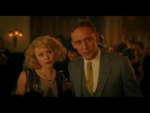 Tom Hiddleston as F. Scott Fitzgerald (Midnight in Paris 2011)