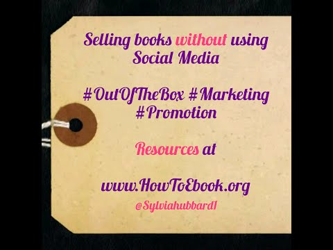 Image result for selling books without youtube sylvia hubbard