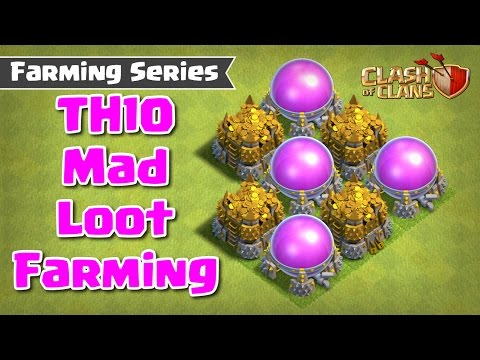 CLASH OF CLANS - TH9.5 & TH10 FARMING STRATEGY