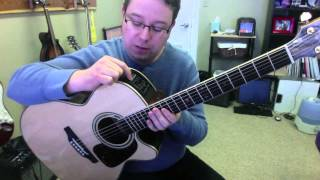 Takamine P7NC Acoustic Guitar Product Demo