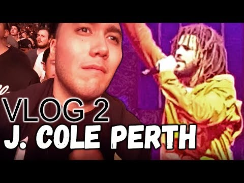 J. COLE CONCERT | PERTH 2017 #4YourEyezOnly