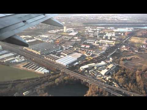Ryanair Landing in Cologne Köln/Bonn Airport 2016 January 09