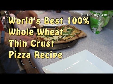Whole Wheat Thin Crust Pizza Recipe - Fool Proof Recipe