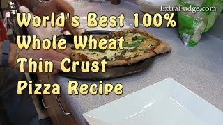 Whole Wheat Thin Crust Pizza Recipe - Fool Proof Recipe