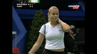 Jelena Dokic vs Alexandra Stevenson Zurich 2003 (2.+ 3.Set)