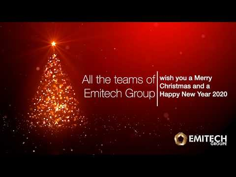 All the teams of Emitech Group wish you a Merry Christmas and a Happy New Year 2020