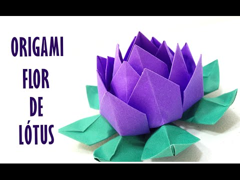 Flor De Lotus Origami Lotus Flower Origami Youtube