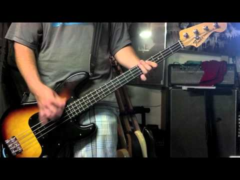 Green Day-Kill The DJ (Bass Cover)