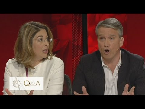 Climate Change: Naomi Klein and Tom Switzer trade blows over climate change