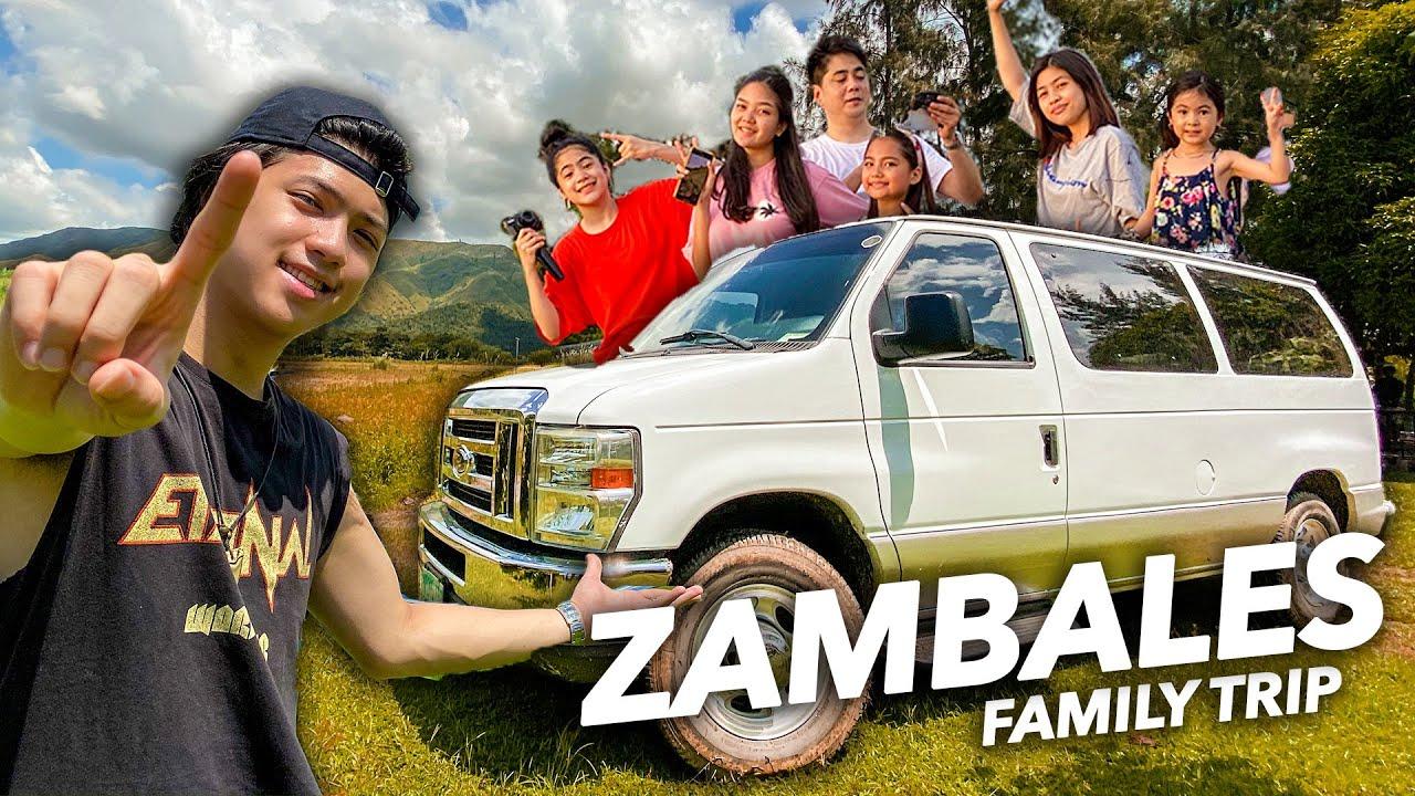 FIRST Family Roadtrip With VANDREA!! (Zambales Farm Trip!)   Ranz and Niana