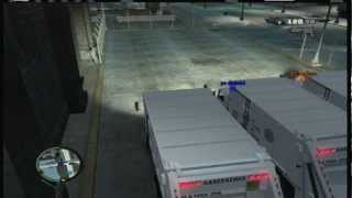 GTA 4 Mini Games! - Garbage Truck Race : Getting Ready for GTA 5