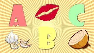 Alfabeto Completo para Crianças / ABC em português / Qual figura começa? #3 - Ep. 39