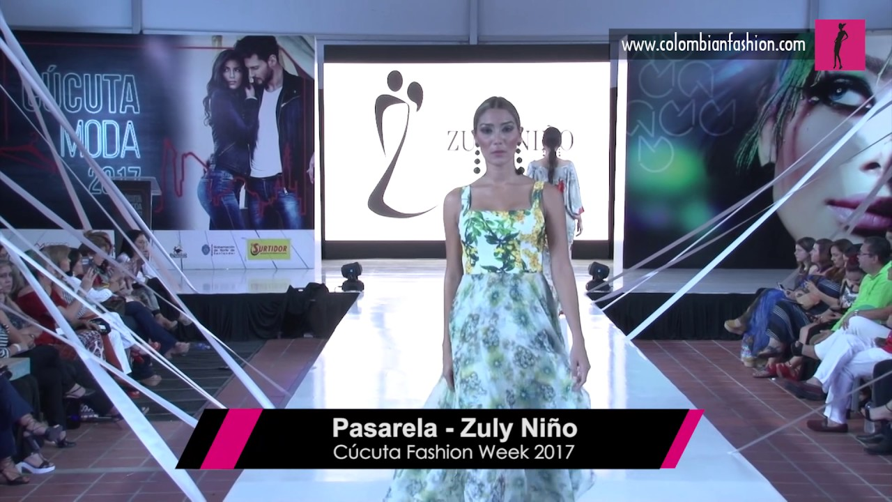 Pasarela Zuly Niño - Cúcuta Fashion Week 2017