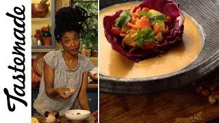 Aphrodisiac Stew (Hot & Spicy Mafé with Gari) | Mood Food-Gladys Nyoth