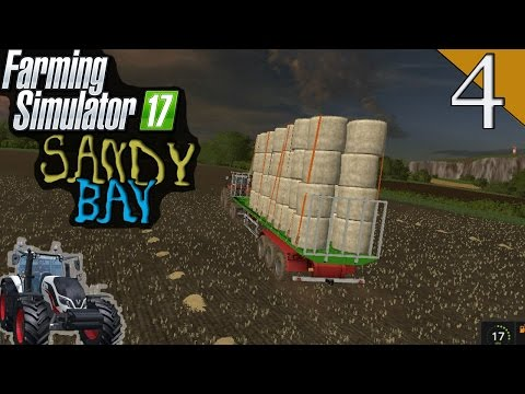 Farming Simulator 2017 Sandy Bay [Ep.4] Adunam toti balotii 50+