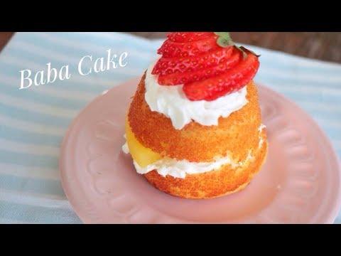 Super Fluffy Italian Baba cake