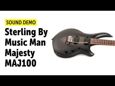 Sterling By Music Man - Majesty MAJ100 Sound Demo (no talking)