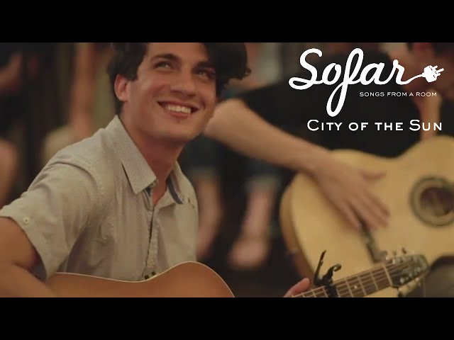 City of the Sun - Intro (The xx cover) | Sofar New York (#898)