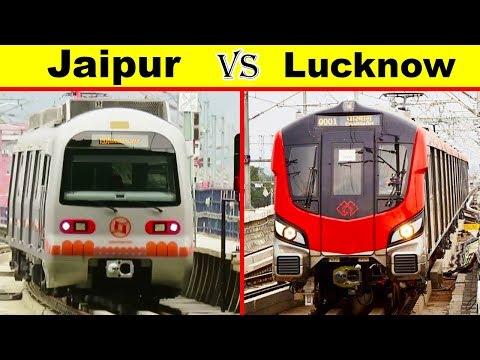 Jaipur Metro vs Lucknow Metro