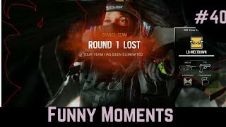 Rainbow Six Siege #40 Funny moments Michael Myers Shortest game ever
