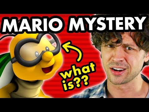 Mario Mystery: What does Lakitu wear on his eyes?