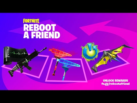 Fortnite How to Earn FREE Rewards with Reboot a Friend – Fortnite News