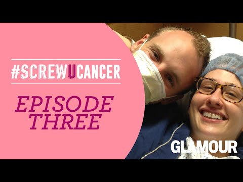 Caitlin's Preventative Mastectomy, Ep 3 Of Glamour's Screw You Cancer: Heading Into Surgery