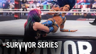 The smackdown women's champion and raw push each other to limit at survivor series. catch wwe action on network, fox, usa networ...