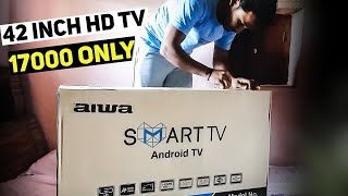 42 inch Aiwa Smart Android TV Unboxing📺🔥
