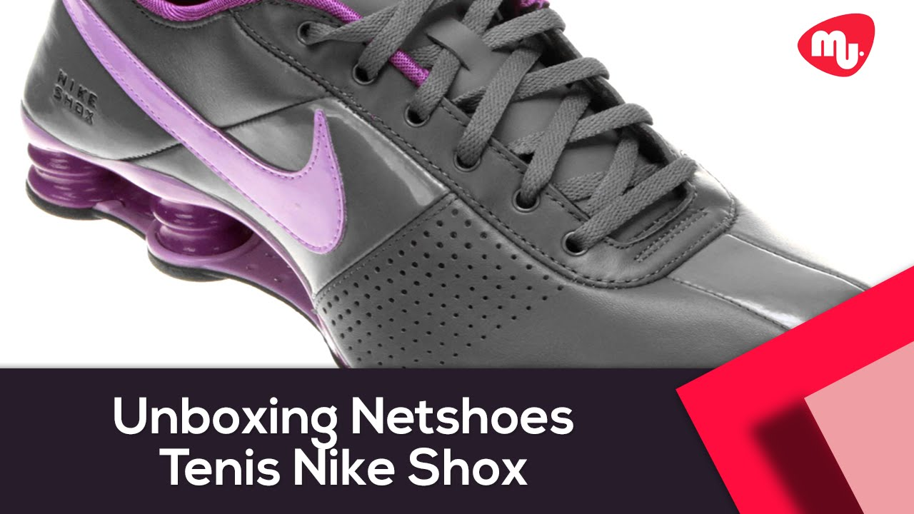 974ada90b31b4 Unboxing Netshoes - Tenis Nike Shox Feminino - YouTube