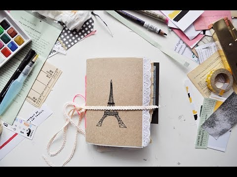 Paris Travelogue Flip Through