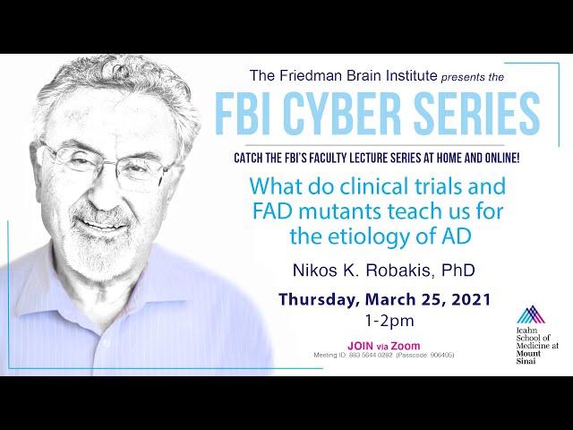 FBI Cyber Series - by Nikolaos K. Robakis, PhD
