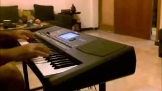 فقدتك يأعز الناس - حسين الجسمي - عزف حي على QT pa600
