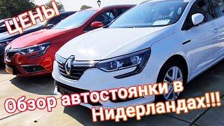 Обзор автоплощадки  в Нидерландах! Цена на автомобили в Украине!