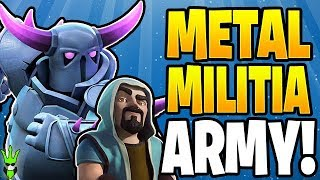 Getting Ready for the METAL MILITIA Event! - Clash of Clans