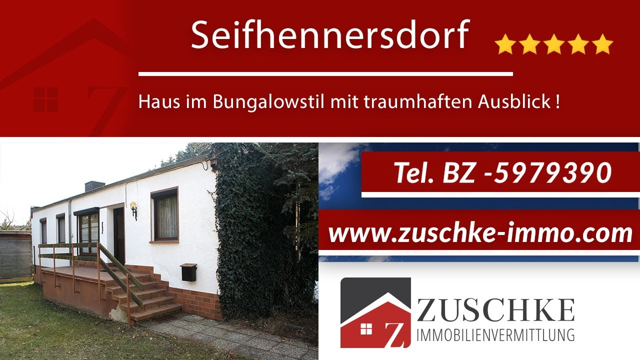 Seifhennersdorf - Ihr Haus im Bungalowstil mit traumhaften Ausblick