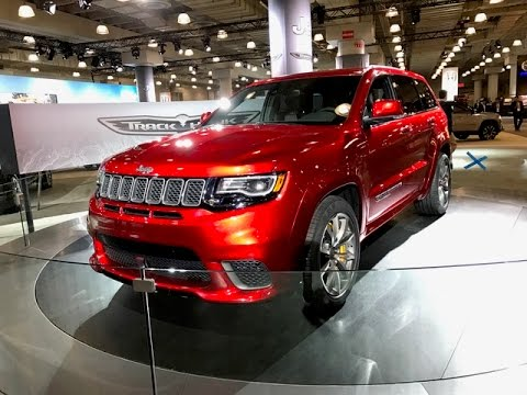 2018 jeep grand cherokee srt trackhawk redline first. Black Bedroom Furniture Sets. Home Design Ideas
