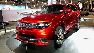 2018 Jeep Grand Cherokee SRT Trackhawk – Redline: First Look – 2017 NYIAS