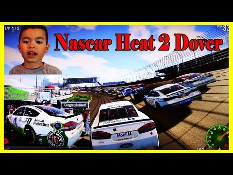 NASCAR HEAT 2 Game, Dover Delaware International Speedway /PS4 HD/ Race Full Video # 2.