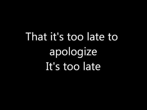 Apologize OneRepublic (lyrics) (letra) download Karaoke