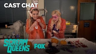 Pumpkin Decorating With The Chanels | Season 2 | SCREAM QUEENS