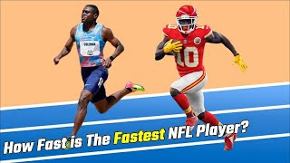 NFL Superstar Tyreek Hill vs Elite Sprinters |  To Race 100m Dash at The Olympics