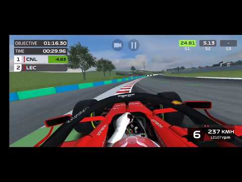 Hungary GP Event Qualification lap F1 Mobile Racing
