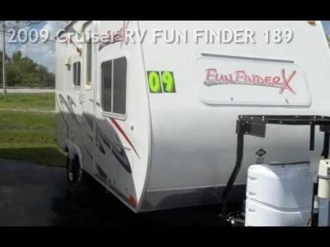 2009 cruiser rv fun finder 189 for sale in fort myers fl