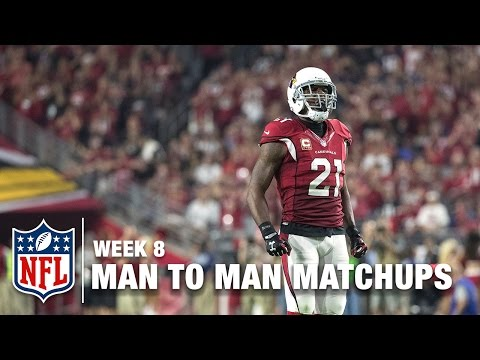 Patrick Peterson shuts down Kelvin Benjamin | Man to Man: Best WR vs. CB Matchups (Week 8)