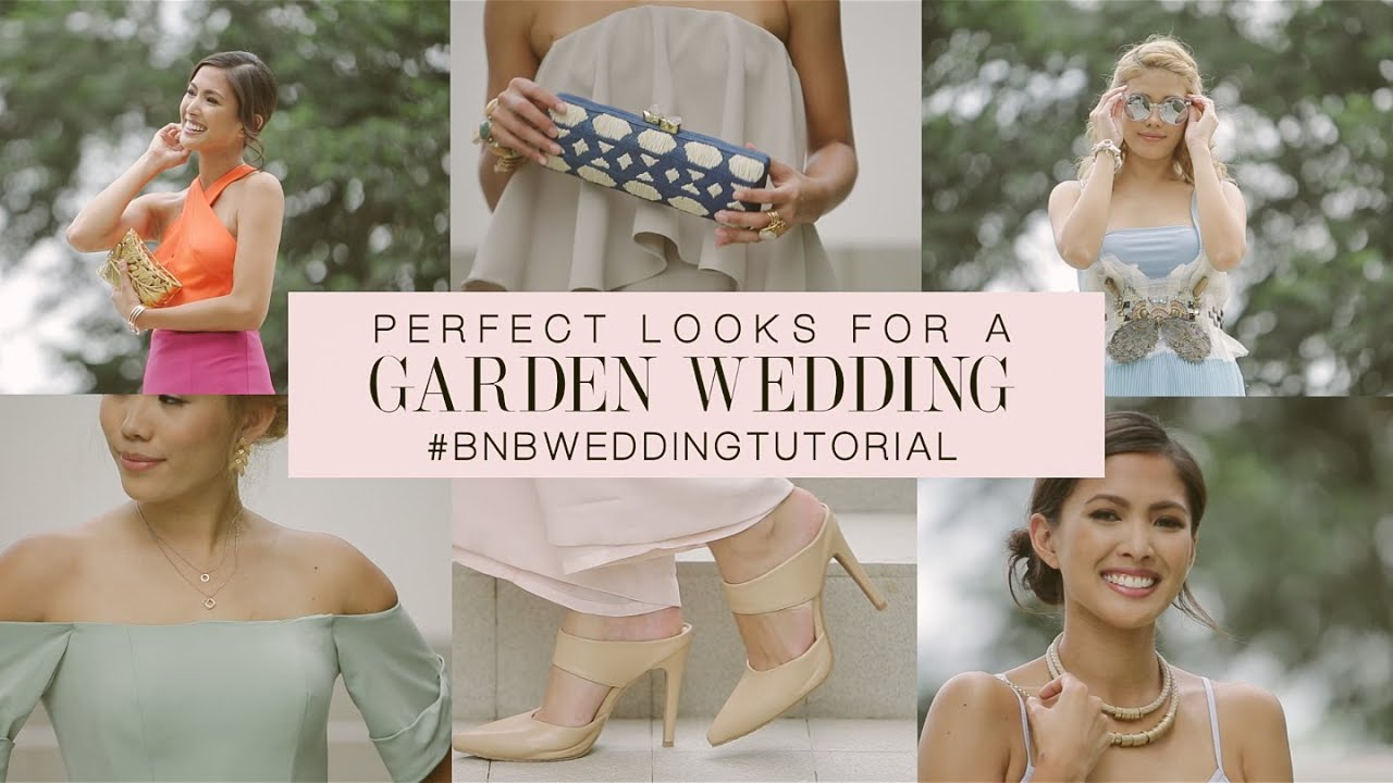 Wedding guest outfit guide perfect looks for a garden for Garden wedding dresses guest