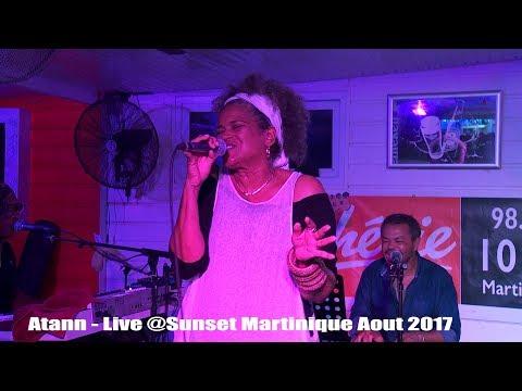 Atann en Live Jocelyne Béroard et ROMARIO CONCEPT en Martinique